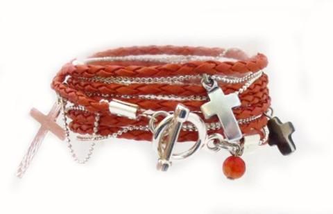 Bracelet cuir Kate