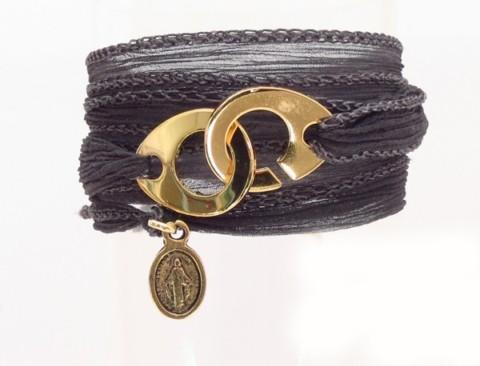 Bracelet en soie Roxanne