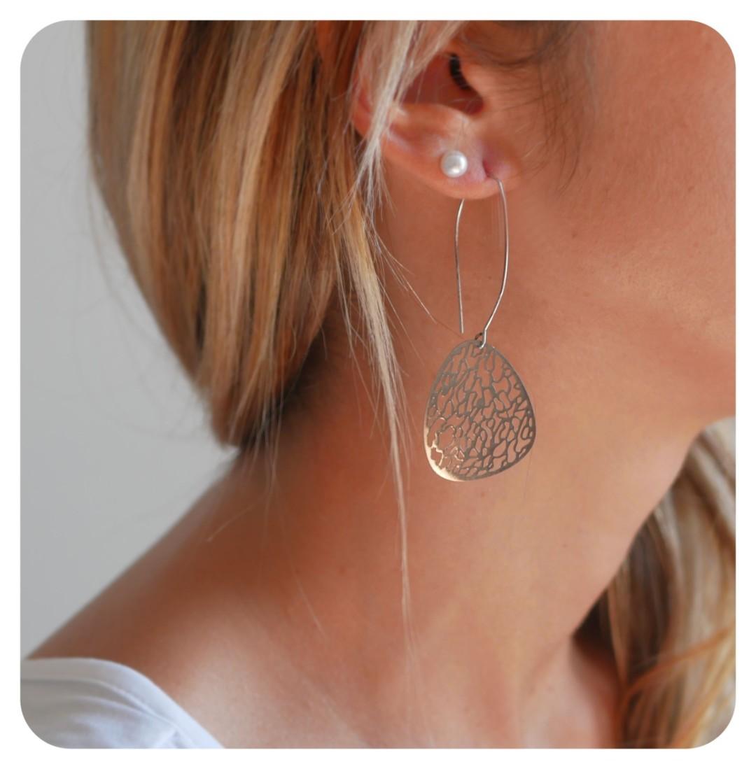 Boucles d'oreilles simples Erin