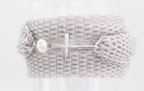 Bracelet Ornella Croix ou Ancre