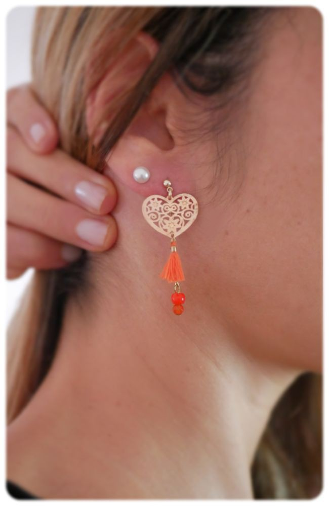 Boucles d'oreilles doubles Erin