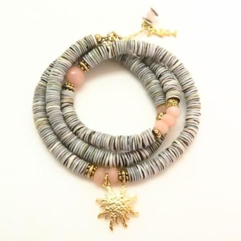 Bracelet multitours Yna
