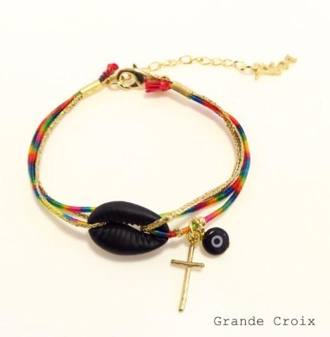 Bracelet brésilien cauri Ibiza