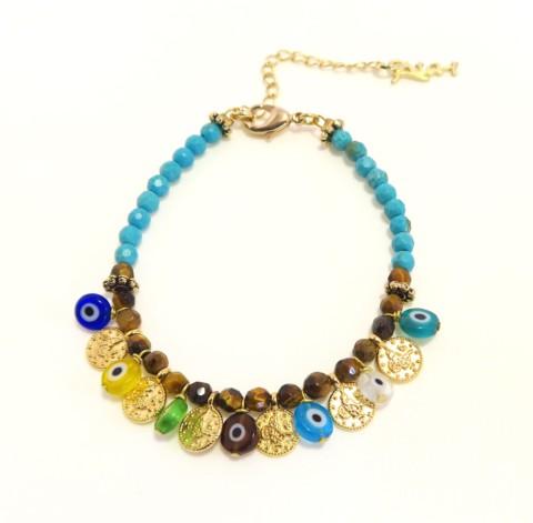 Bracelet perles Ibiza