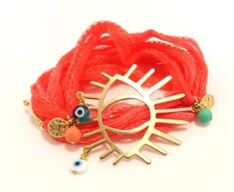 Bracelet en soie Ibiza